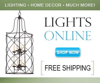 Save on top name lighting at Lights Online
