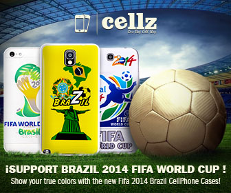 Get prepared for FIFA World Cup 2014 with our new Brazil Fifa cases.