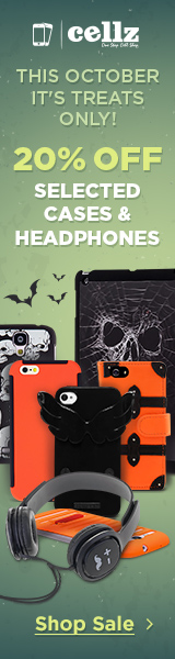 This October it's treats only! 20% off on selected cases and headphones! Shop now!