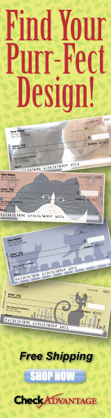 cat personal checks at CheckAdvantage