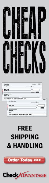 Cheap Checks with Free Shipping