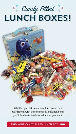 Save 10% Off Candy Filled Lunch Boxes Using Code: OTC0820 OldTimeCandy.com! Promotion Good 8/1/20 Through 9/30/20! Click Here!