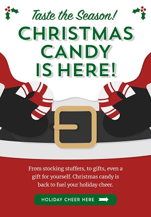Christmas Candy Is Here! Save 10% Using Code: OTC1118 At Old Time Candy!