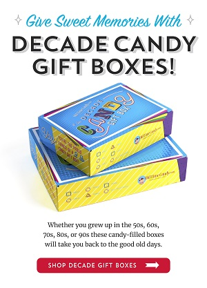Save 10% Off Candy Filled Gift Boxes Using Code: OTC1118 OldTimeCandy.com! Promotion Good 11/01/18 Through 11/30/18! Click Here!