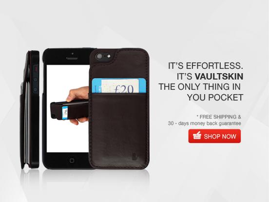 Wallet Case for iPhone - Vaultskin