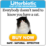 Litterbiotic Cat Litter Deodorizer - Special Offer