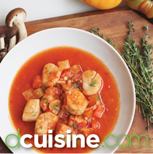 Chef prepared meals at dcuisine.com