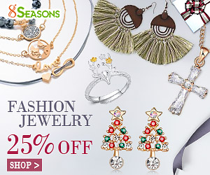 Fashion Jewelry Discounted Sale, 25% Off