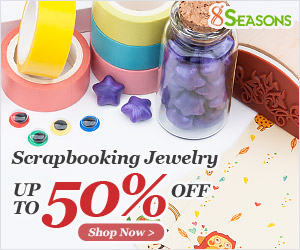 Up to 50% Off on Scrapbooking Jewelry Supplies