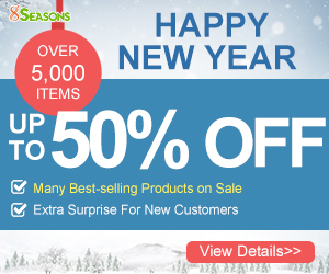 Up to 50% Off on New Year Promotion, Ends on Feb.19th,2018