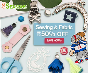 Save Up to 50% on Sewing & Fabric Supplies