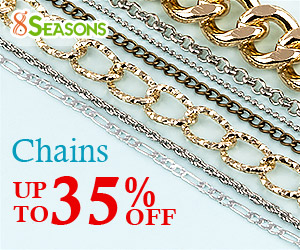 Various Cheap Chains for Jewelry Making, Up to 35% Off ( Ends on Apr.4th,2018)