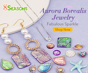 Best Sellers Aurora Borealis Findings for Jewelry