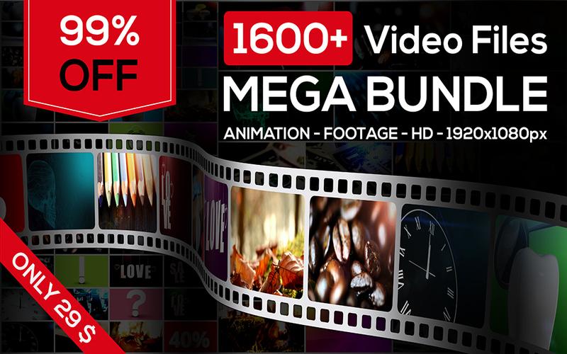 Stock Videos Mega Bundle
