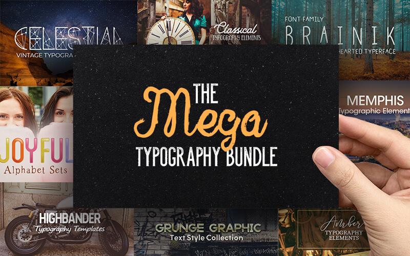 The Mega Typography Bundle
