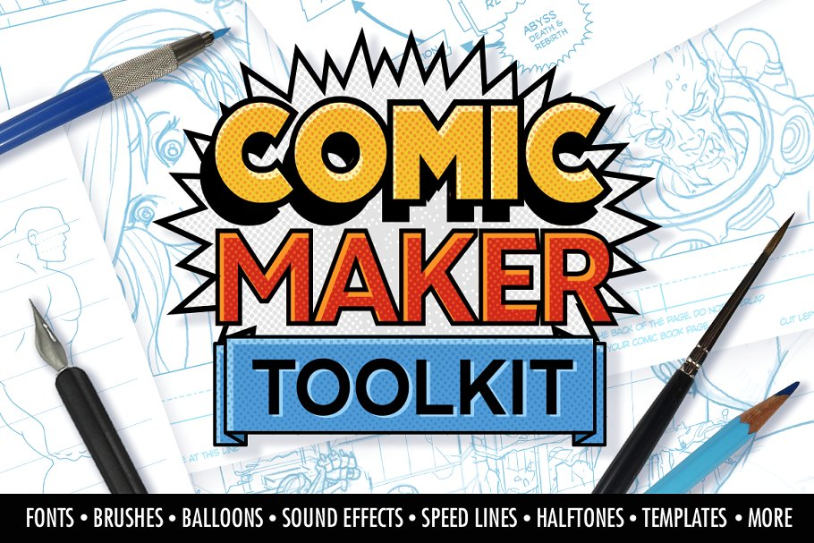 The Comic Maker Toolkit