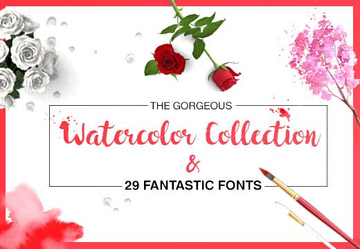 The Gorgeous Watercolor Collection