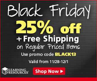 Black Friday - Save 25% off regular priced items + Free Shipping