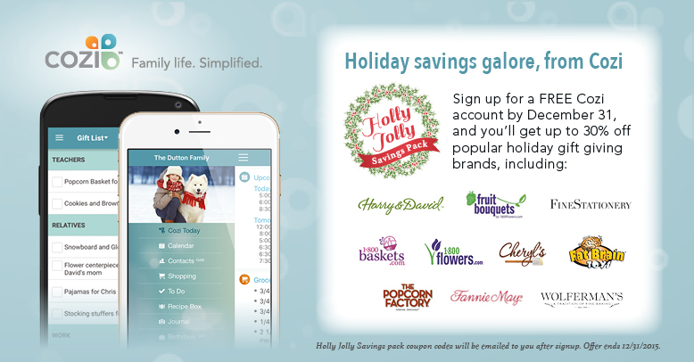 Cozi's Holly Jolly Savings Pack
