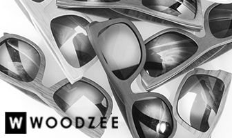 Woodzee Black and White Banner
