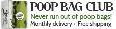 Dog Poop Bags Delivered Monthly
