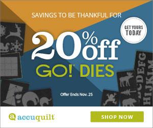 20% off GO! Dies