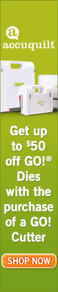 Get up to $50 off Go! Dies with the purchase of a Go! Cutter
