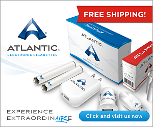 Free Shipping on Atlantic Electronic Cigarettes