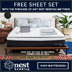 FREE SHEET SET with Purchase of any Mattress