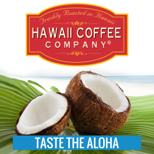 Stand Alone Books-Flavored Coffee from Hawaii Coffee Company