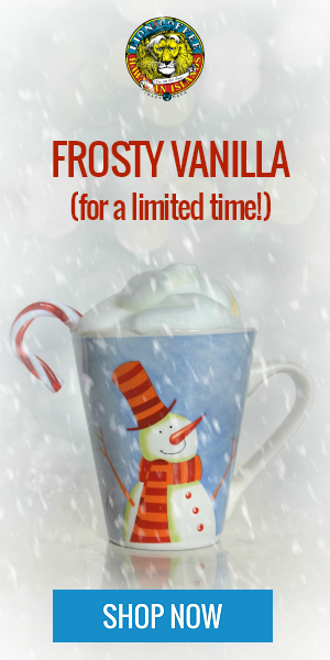 Frosty Vanilla Holiday Coffee from Hawaii Coffee Company