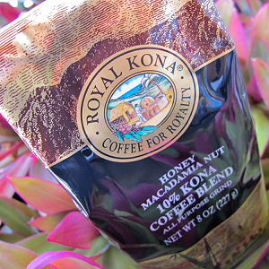 Flavored 10% Kona Coffee from Hawaii Coffee Company
