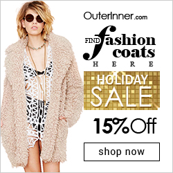 Holiday Sale 15% OFF women fashion coat