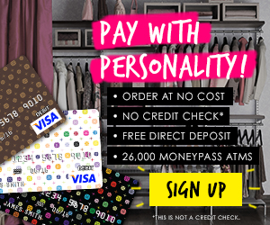Fashion Prepaid Visa Debit Cards