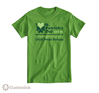 Celebrate St. Pattys Day with CustomInk