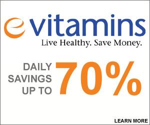 eVitamins coupon code