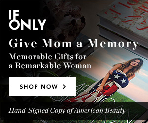 IfOnly Give Mom a Memory Memorable Gifts for a Remarkable Woman Shop Now > Hand-Signed Copy of American Beauty