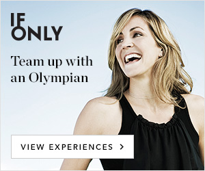 IfOnly Team up with an Olympian View Experiences