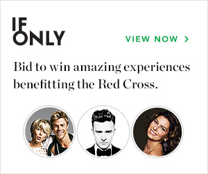 IfOnly Bid to win amazing experiences benefitting the Red Cross. View Now