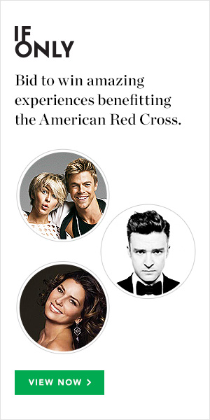 IfOnly Bid to win amazing experiences benefitting the American Red Cross. View Now