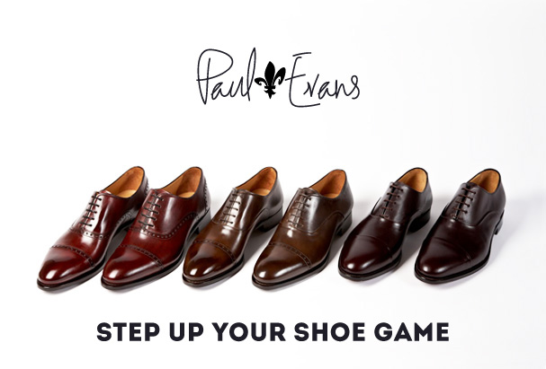 Paul Evans - Luxury Men's Dress Shoes - New York City