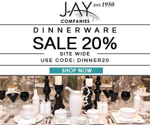 Get 20% OFF on All Dinnerware. Use Code DINNER20 at Checkout