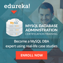 MySQL DBA Online Training by Edureka