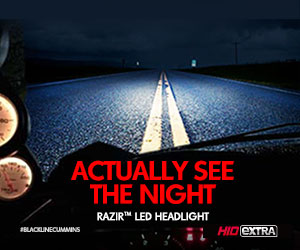 Actually See The Night, RAZIR LED Headlight
