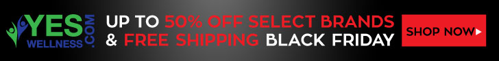 Save up to 50% off Select Brands + Free Shipping at YesWellness