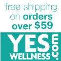 Free Shipping on all orders over $49 at YesWellness.com