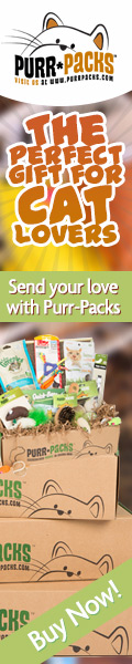 Purr-Packs are the perfect gifts for cat lovers!