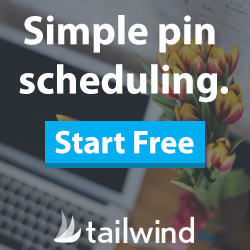 Easy pin scheduling. Start for Free with Tailwind.