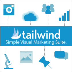 Tailwind Visual Marketing Suite - Schedule Content on Pinterest!