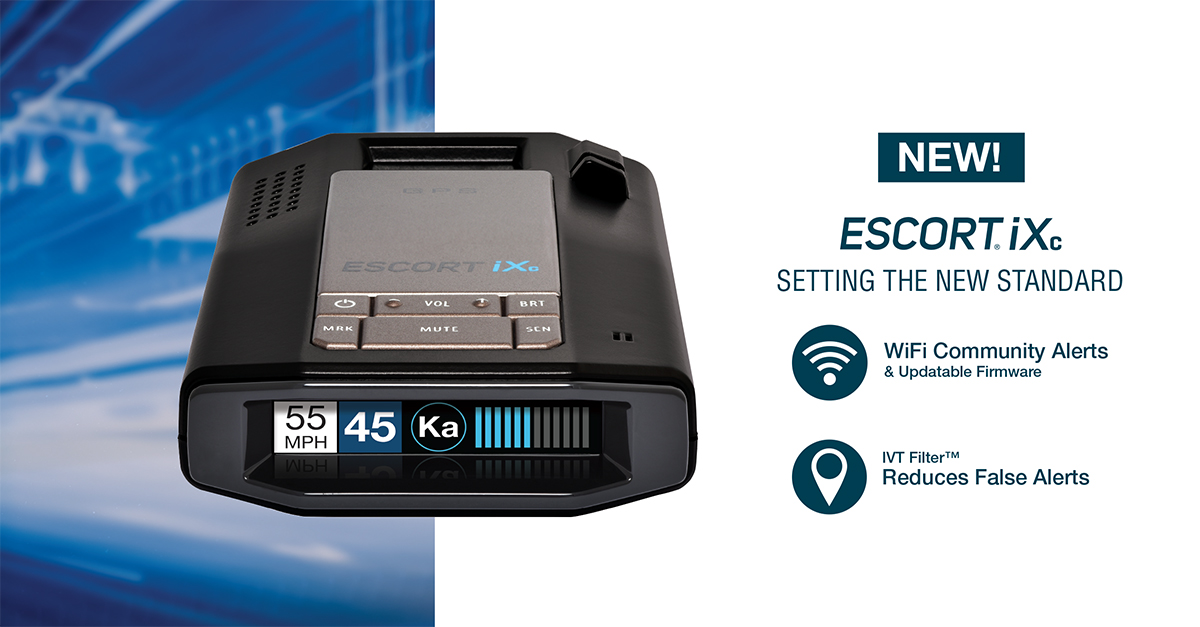 NEW Escort iXc Radar Detector